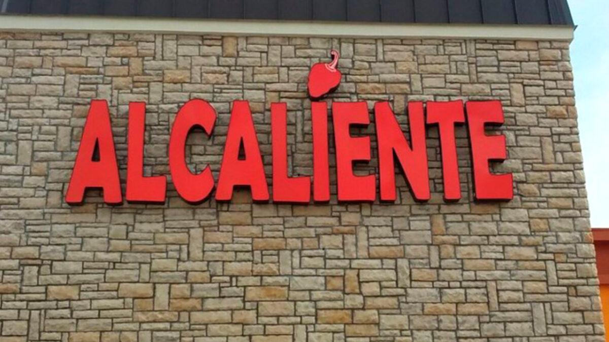 Alcaliente-Channel Letter