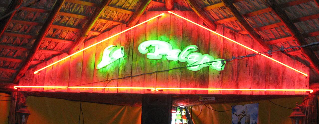 La Palapa- Neon sign