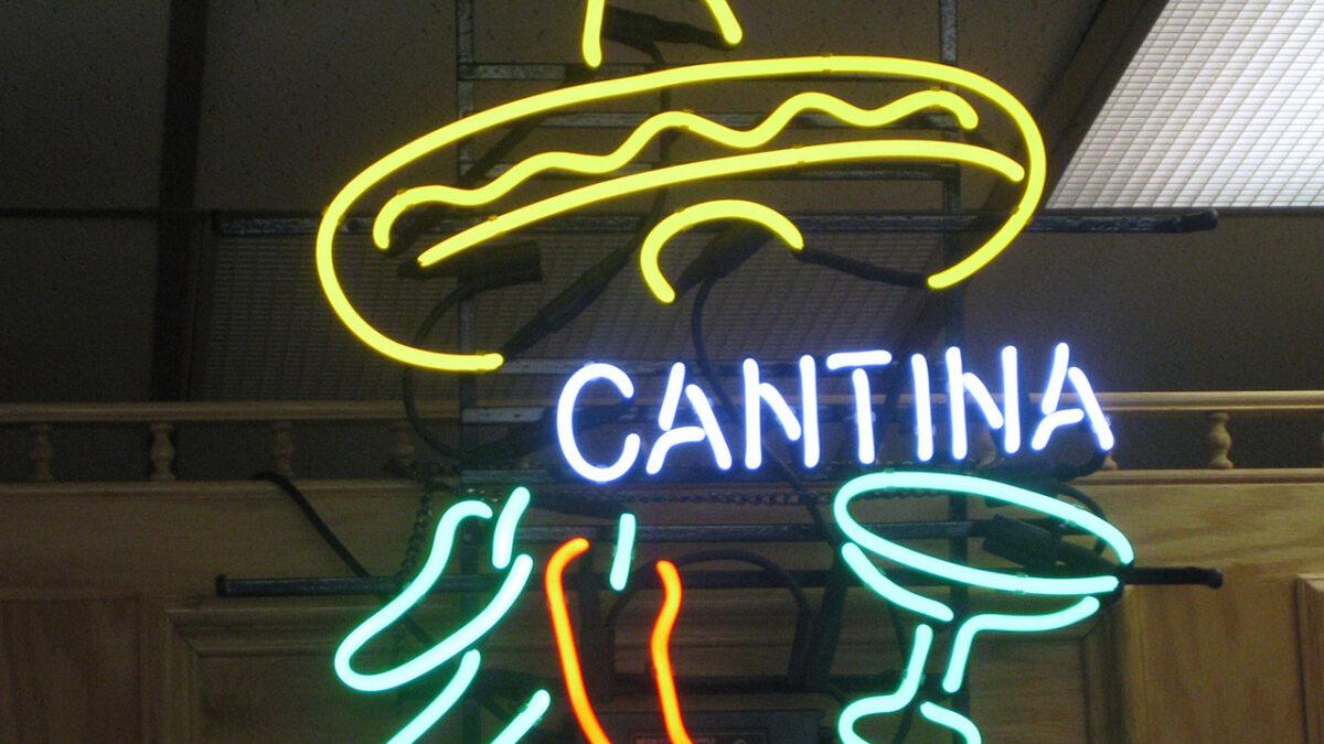 La cantina-Sign