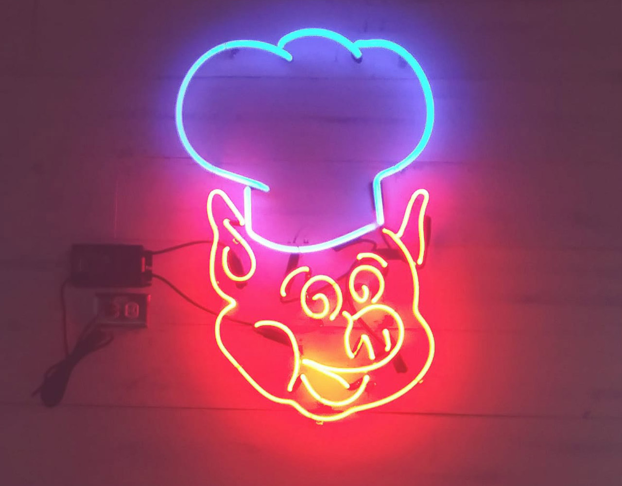 Decoration In Neon. NEON